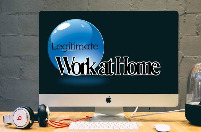 Find a Legitimate Work From Home Job Today