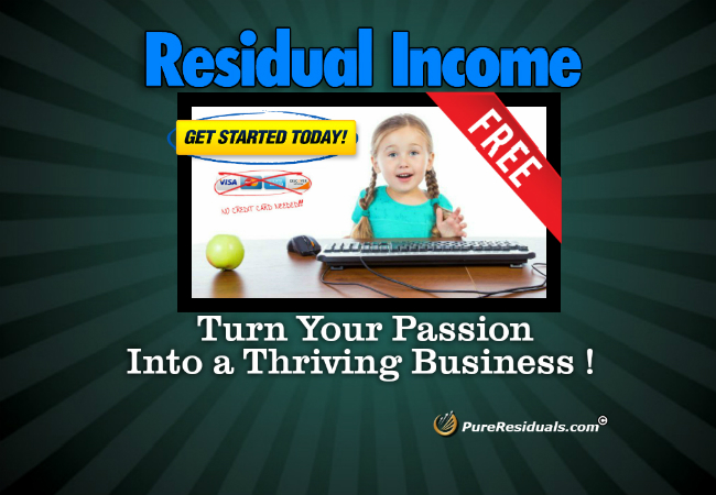 Residual Income Working From Home